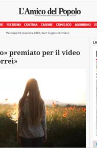 """Istituto Catullo premiato per il video """"Il mondo che vorrei"""""""